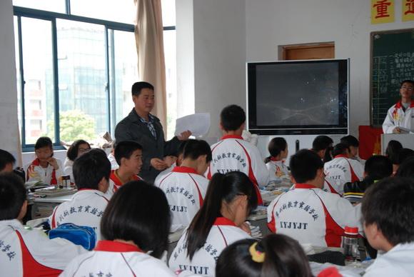 监利新教育:青蓝工程,倾情演绎