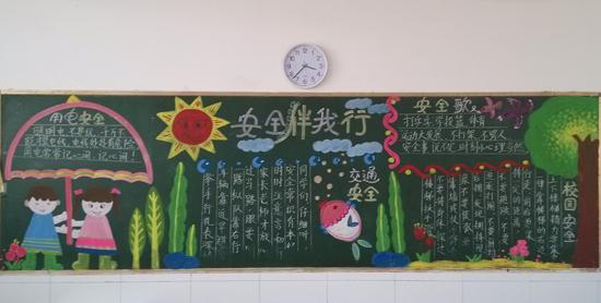 幼儿园喜迎元旦黑板报边框设计