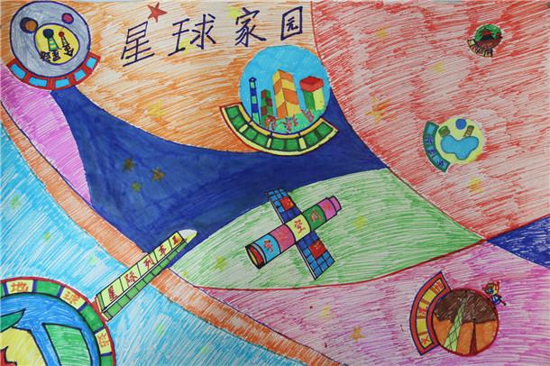 淮外科技节:科学幻想绘画活动部分优秀作品图集