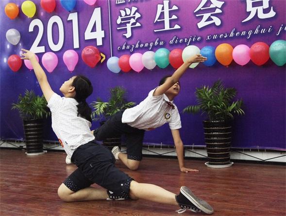 温州翔宇初中学生会竞选:相信我,就投我一票