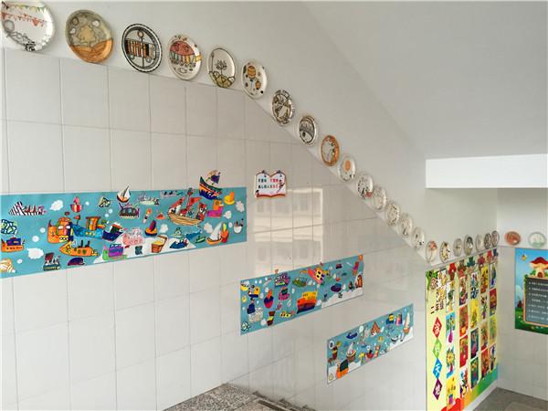 语言区幼儿园墙面布置