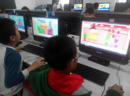淮安曙光小学部举办学生电脑绘画比赛