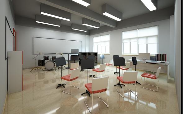 国际部音乐专用教室(效果图)