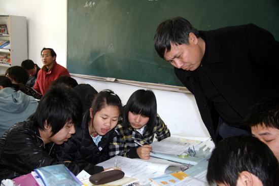 江蘇如皋市白蒲高級中學代表團訪問寶中
