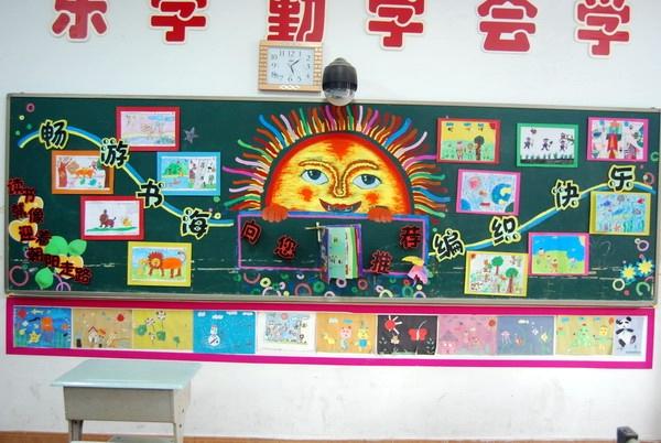 更重要的各个班级充分将新教育理念和儿童课程相结合,让板报成为师生图片