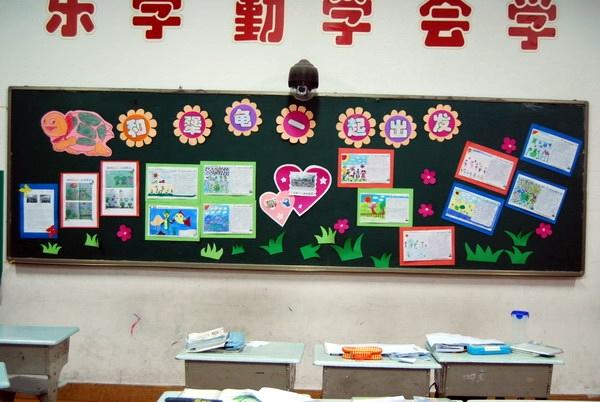 美术教室黑板边框设计