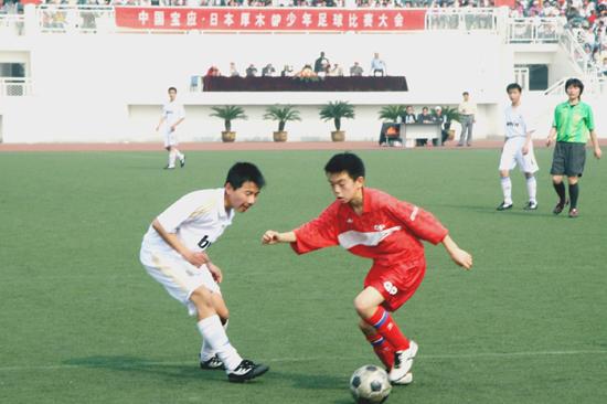 中国国家少年足球队_中日GP少年足球赛(图集)_翔宇教育集团